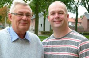 Vader en zoon van den Elzen